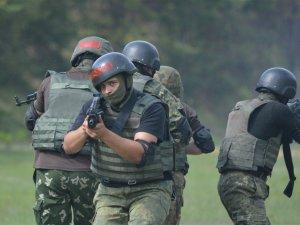 Бійці батальйону «Полтава» провели тактичні навчання (ФОТО, ВІДЕО)