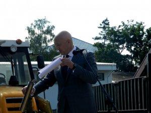 Фото: У Полтаві на території будівництва кардіоцентру заклали капсулу-звернення до майбутнього покоління  (ФОТО)