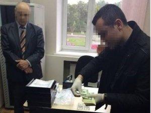 Фото: На Полтавщині на хабарі спіймали голову райдержадміністрації