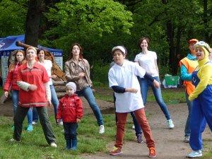 У полтавському дендропарку провели День здоров'я (фото)