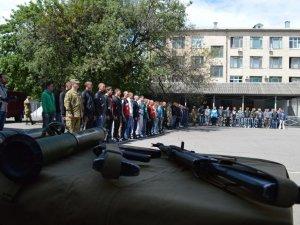 Фото: Служити в елітних військах із Полтавщини відправили 105 призовників (ФОТО)