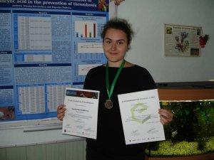 Фото: Школярка з Полтавщини стала переможницею у всесвітньому конкурсі