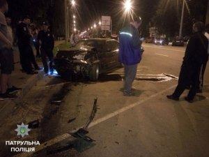 Фото: У Полтаві на вулиці Калініна розбились 4 автівки
