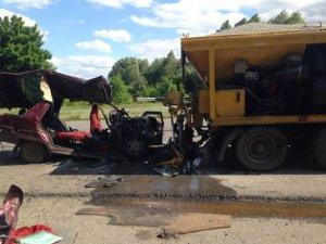 Фото: Двоє загиблих в ДТП під Полтавою (фото)