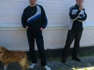 Фото: Патрульні поліцейські зловили двох «ведмежатників»