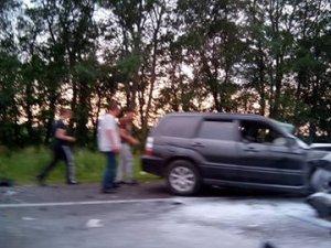 Фото: ДТП на Полтавщині: четверо людей загинуло та одна особа травмована