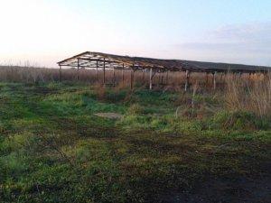 Фото: На Полтавщині  житель Сумщини крав шифер із ферми