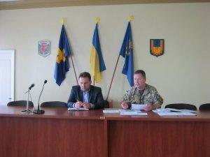 Фото: Новопризначений воєнком Полтавщини уже взявся до роботи: відвідав Карлівку