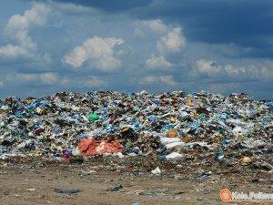 Фото: Пожежа на Макухівському сміттєзвалищі: коментар ГУ ДСНС Полтавщини