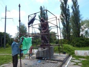У Миргороді до річниці початку Другої світової війни відновили пам'ятник