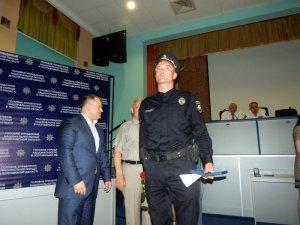 Фото: Полтавських поліцейських нагородили нагрудними знаками