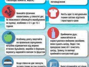 Фото: Українців попередили про теплові та сонячні удари: як вберегтись (інфографіка)