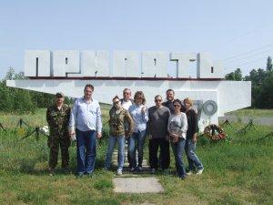 Фото: Нову виставу про Чорнобиль гоголівці зіграли у зоні відчуження