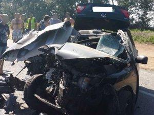 Фото: На Полтавщині у ДТП загинули двоє (фото)