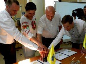 У Полтаві до Дня Конституції України погасили  оригінальну поштову марку (ФОТО, ВІДЕО)