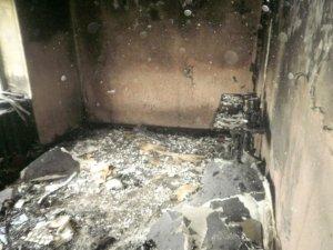 Фото: На Полтавщині згорів ФАП: жертв немає