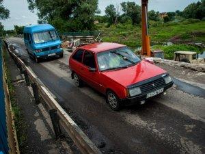 Фото: На Полтавщині майже за мільйон відновили зруйнований міст через Сулу