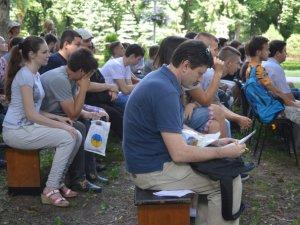 Фото: У Полтаві розпочався дводенний фестиваль «Art Полтава» (ФОТО)