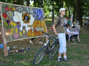 Музика, театр і ІТ-технології – у корпусному парку два дні проходить фестиваль «Art Полтава» (ФОТО, ВІДЕО)