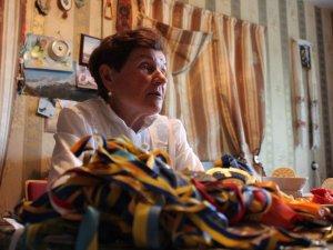 Фото: 76-річна Анастасія Дойнікова з Миргорода ходить у високі гори та бігає марафони