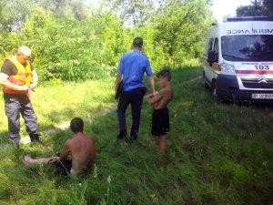 Фото: На Полтавщині тонув чоловік