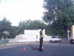 Фото: ДТП у Полтаві: на перехресті  вулиць Панянки та Шолом-Алейхема знову постраждала людина (ФОТО)
