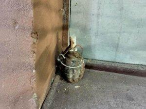Фото: Біля офісу по вулиці Кукоби в Полтаві знайшли гранату (оновлено)