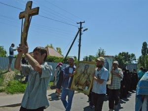 Фото: «Ходоки» з Донбасу приєдналися до святкової служби та ходи в Полтаві (ФОТО)