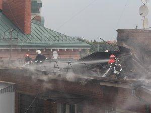 Фото: Постраждалих у пожежі на Першотравневому у Полтаві немає, – ДСНС (оновлено, ФОТО)