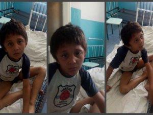 Фото: У Кременчуці знайшли 6-річного хлопчика, який не вміє ходити, говорити і їсть квіти