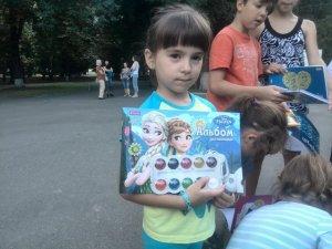 Фото: Волонтери у Полтаві провели квест для дітей-переселенців