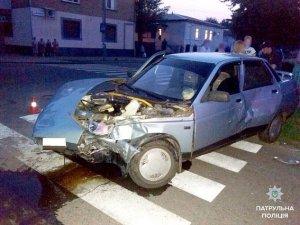 Фото: У Полтаві під час ДТП постраждало троє людей