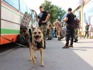 У батальйоні спецпризначення «Полтава» розпочалася ротація (ФОТО)