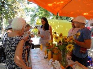 Фото: Пасічник: у Полтаві на Святі меду працювали аферисти