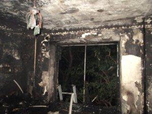 Фото: Пожежа на Полтавщині: в 9-поверхівці виявили труп