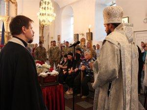 Полтава прощалася із доблесним майором Денисом Лесняком (ФОТО)