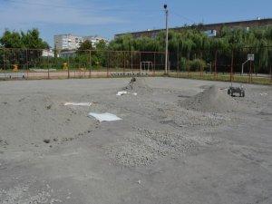 На Полтавщині шкільний спортивний майданчик реконструюють за півмільйона