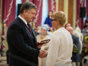 Фото: Полтавка отримала державну нагороду від Президента України