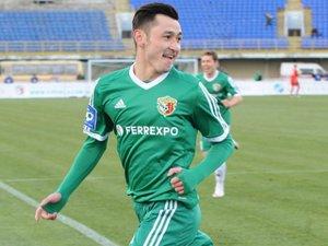 Фото: Санжар Турсунов повертається в «Ворсклу»