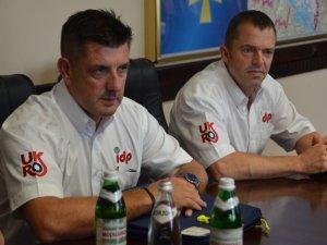 Фото: Полтавських рятувальників навчатимуть пожежники-волонтери із Великої Британії