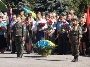 Фото: У Кременчуці встановили кований пам'ятник загиблим в АТО (ФОТО)