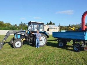 Фото: Газовидобувна компанія купила трактор для сільради на Полтавщині
