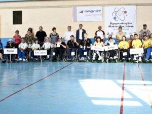 Фото: Спортсмени з Горішніх Плавнів взяли участь у кубку з гри бочче