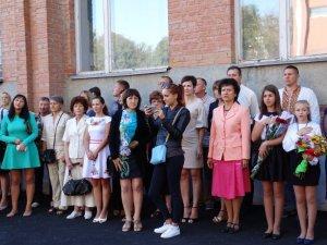 Фото: День знань у школі №5 Полтави: недовго, демократично, українською