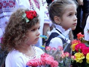 День знань у школі №5 Полтави: недовго, демократично, українською