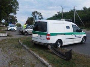 Фото: У Полтаві нетверезий водій влаштував ДТП