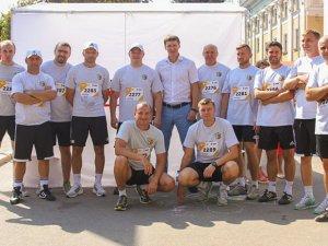 Фото: Віце-президент, тренери та персонал «Ворскли» взяли участь в напівмарафоні