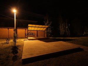 Фото: У Полтаві з'явився новий простір для проведення заходів просто неба