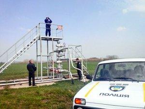 Фото: На Полтавщині ледь не обікрали газову свердловину